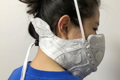 Nike создал для китайцев маску, защищающую от смога