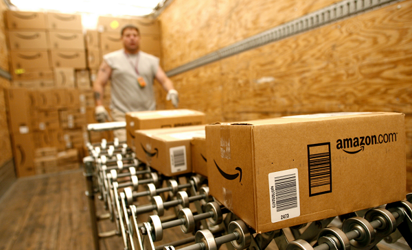 Прибыль Amazon загод увеличилась в 4 раза