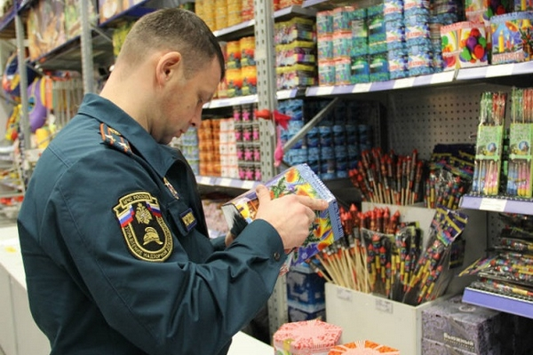 Рейды пообнаружению контрафактной пиротехники начались в столице России