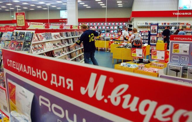 «М.Видео» откроет 20 магазинов в текущем году