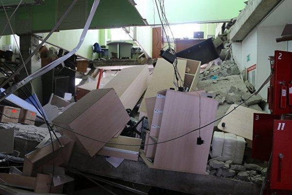 В «Магните» в Курганской области рухнули перекрытия