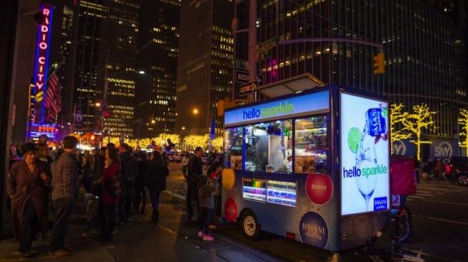 В Нью-Йорке набирают популярность экологичные автолавки