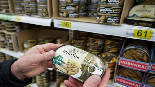 Российские производители заместили шпроты из Прибалтики