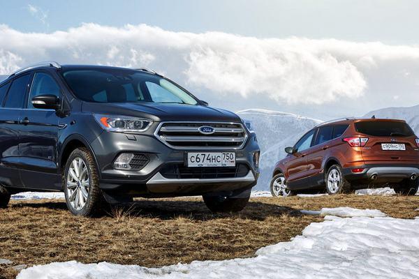 Почти на 40% выросли продажи Ford в январе