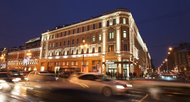 Colliers International займется реализацией ТК «Невский Центр»