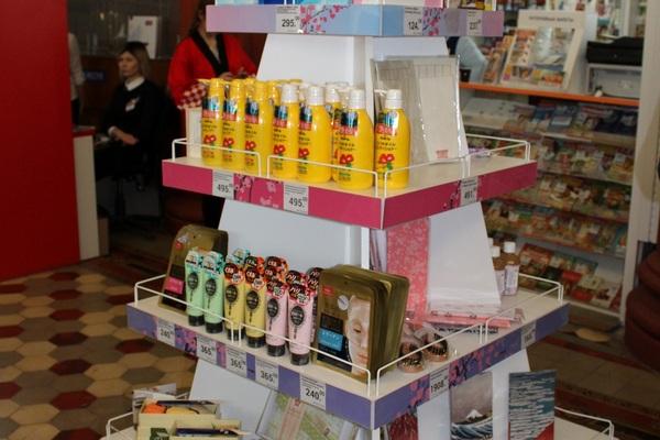 «Почта России» начала продавать японские товары на Моспочтамте