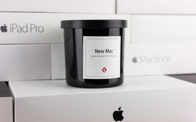 Вweb-сети реализуют свечки сзапахом «свежераспакованного продукта Apple»