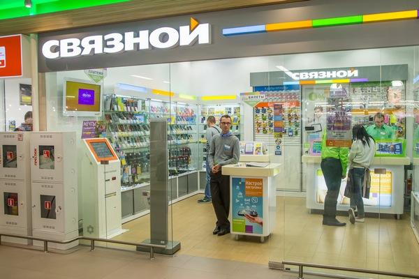 «Связной» пробует новый формат магазинов в столице