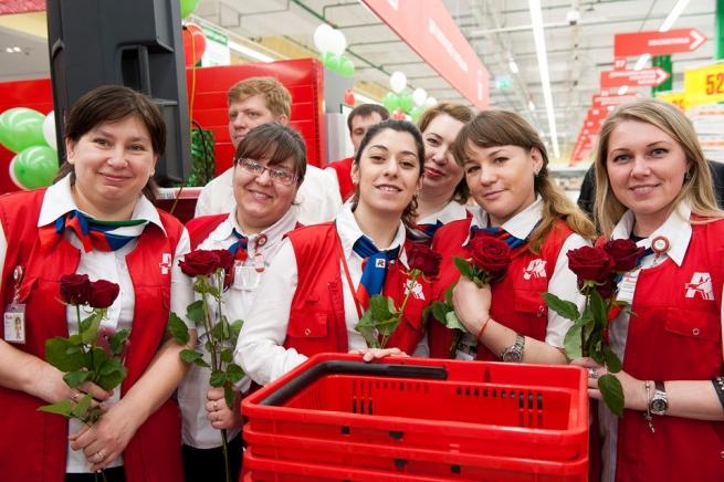 «Ашан» откроет флагманский супермаркет вцентральной части Москвы