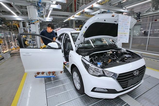 Компания Хендай остановила производство авто в Китайская народная республика