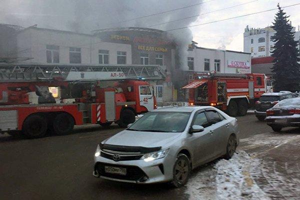 3 человека погибли в итоге пожара вТЦ вподмосковном Раменском