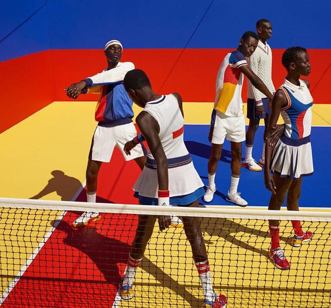 Фаррелл Уильямс принял участие в создании летней коллекции для adidas Originals