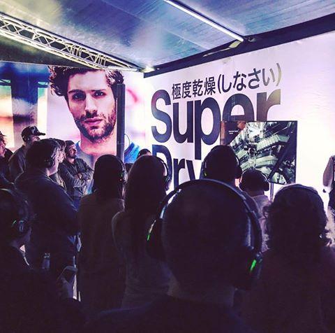 В универмаге «Цветной» открылось концептуальное пространство Superdry