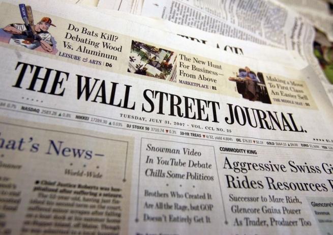 The Wall Street Journal прекращает выпуск собственных интернациональных объявлений