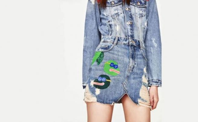 Zara сняла с продажи скандальную юбку