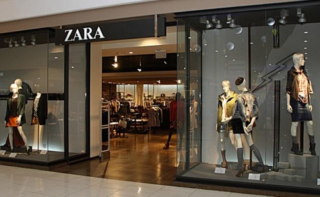 Zara запустила роботизированный пункт выдачи товара