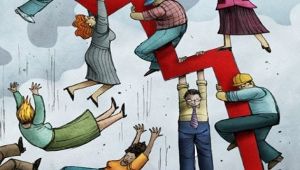 Кризис стал главным событием уходящего следующего года для граждан России