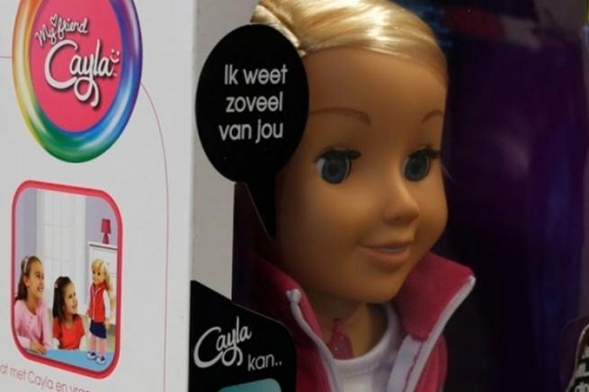 ВГермании запретили говорящую куклу Cayla из-за опасений шпионажа