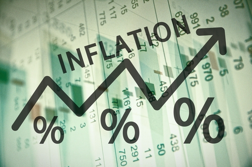 Инфляция в России держится на уровне 0,1