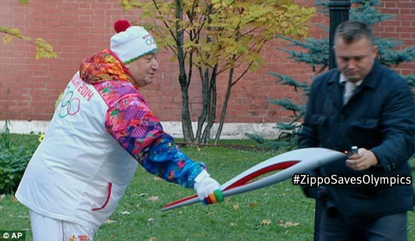Zippo Saves Olympics