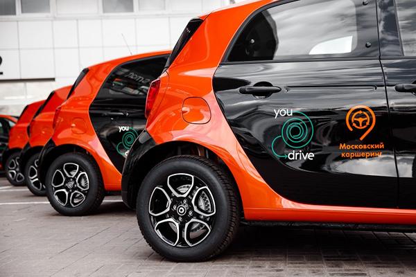 Каршеринг YouDrive начнет принимать машины отчастных лиц— NewRetail