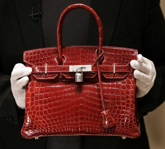 Культовые сумки Hermes Birkin ежегодно дорожают на 14%