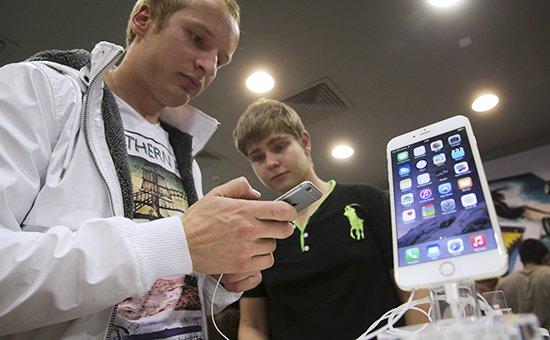В российских магазинах снизились цены на iPhone 6