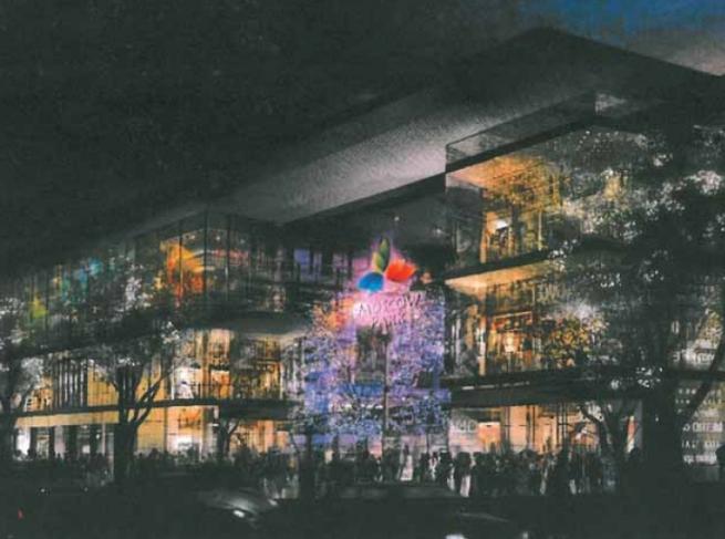 Открытие ТРЦ Columbus перенесли на ноябрь