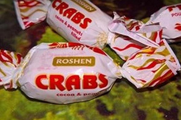 Суд в ЕС отказал Roshen в регистрации марки Crabs из-за схожести с «Раковыми шейками»