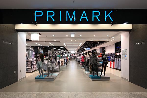 Ритейлер Primark продемонстрировал высокие темпы роста продаж
