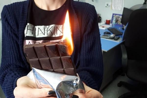 Роспотребнадзор проверит «горящий шоколад»