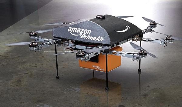 Amazon впервые продемонстрировал доставку беспилотником в США