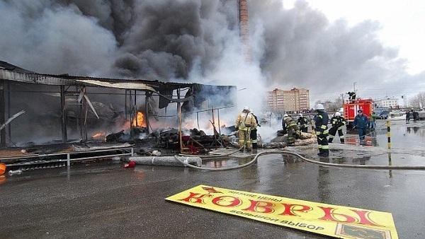 Суд продлил арест трем фигурантам дела о пожаре в казанском ТЦ «Адмирал»