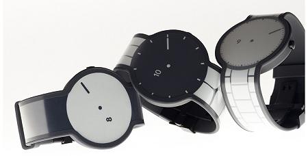 Sony представила часы на основе технологии электронной бумаги
