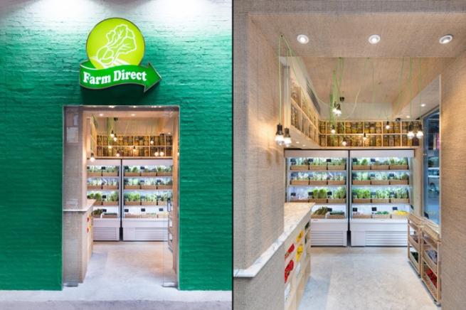 Концептуальный магазин от PplusP Designers. Гонконг, Китай