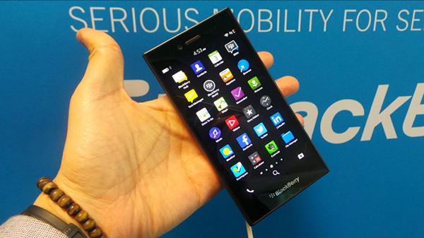 Компания BlackBerry представила новый смартфон для развивающихся рынков