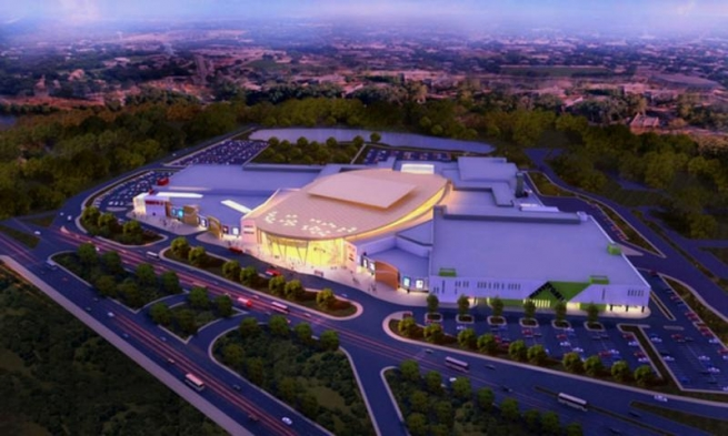 14 ноября в Челябинске состоится открытие ТРЦ «Алмаз»