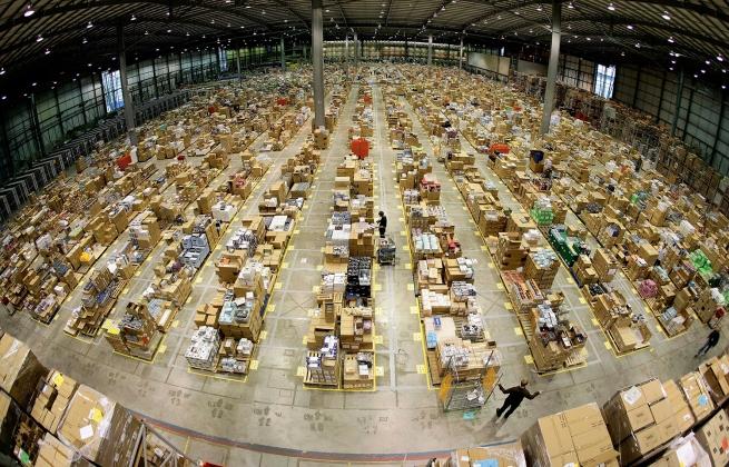 Amazon тестирует собственную логистическую сеть