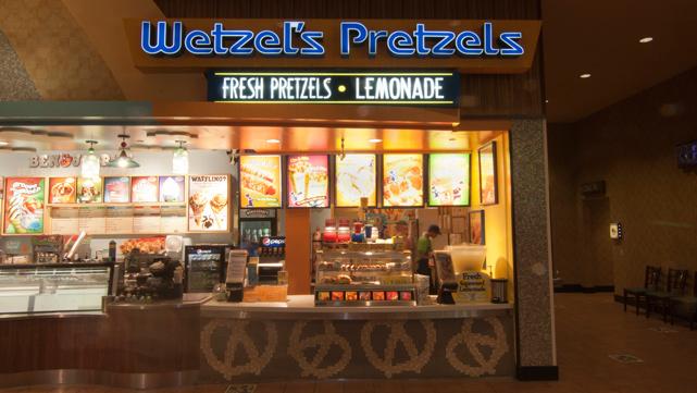 В России расширяется Wetzel's Pretzels