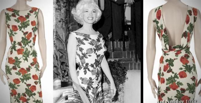 Последние платья Мэрилин Монро и принцессы Дианы выставлены на торги