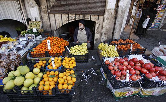 Сирия начала первые поставки фруктов и овощей в Россию