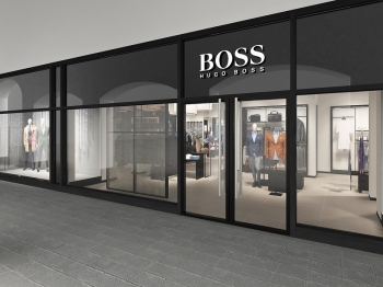 Магазин Hugo Boss открылся в Outlet Village Пулково
