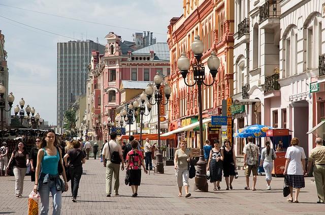 Арбат стал самой заполняемой торговой улицей Москвы