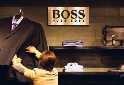 Hugo Boss увеличил годовую выручку на 9%