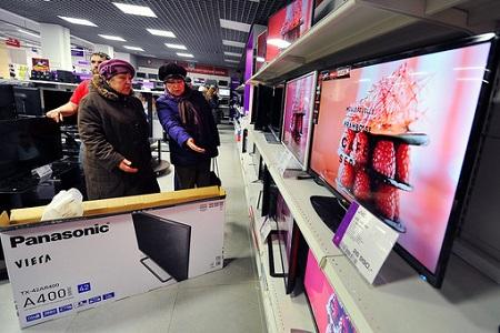 Россияне перепродают приобретенные в декабре 2014 года товары