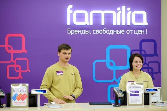 Familia откроет флагманский магазин в ТРЦ «Ривьера»