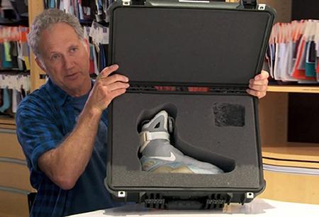 Бренд Nike создал кроссовки с «умными» шнурками