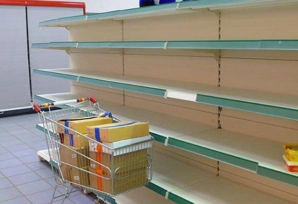 Из-за кризиса Венесуэла испытывает дефицит товаров