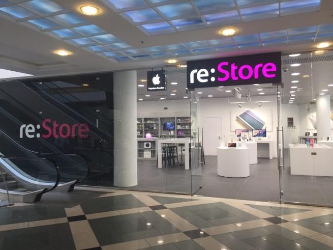 В России откроется самый большой магазин re:Store