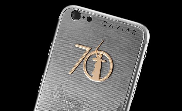 Бренд Caviar представил новую модель смартфонов  к 70-летию Победы в ВОВ